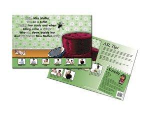 Nursery Rhyme Posters - Little Miss Muffet