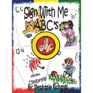 Sign With Me ABCs Coloring Book