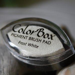 Cat's Eye Pigment Ink Brush Pad - White