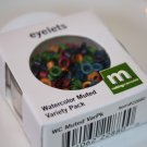 Eyelet Variety Pack - Watercolor Muted Colors - 100 pieces