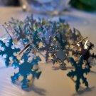 Pearl Snowflake Brads