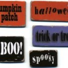 Chipboard Words - Halloween - Lil Davis
