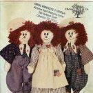 Americana Rag Dolls Pattern - Butterick 3056