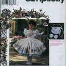 Simplicity Pattern 9455 - Daisy Kingdom Dress, Pinafore, Purse, Bow - Size 5-6X