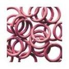 Pink Jump Rings - Junkitz