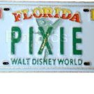 Disney Pin: WDW Cast Lanyard Series - Pixie License Plate