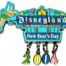 Disney Pin: DLR - New Year's Day 2004 (Disneyland Sign) Dangle