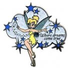 Disney Pins: Tinker Bell - Where Dreams Come True