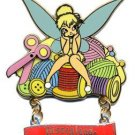 Disney pins: Needlework Tinker Bell