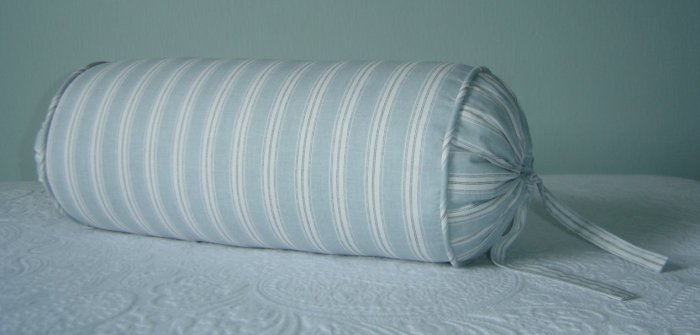 "RALPH LAUREN CUSTOM 14""X6"" HOPE CHEST BOLSTER PILLOW"