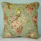 RALPH LAUREN CUSTOM 14X14 CHARLOTTE FLORAL PILLOW