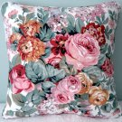RALPH LAUREN CUSTOM 16X16 ALLISON FLORAL ACCENT PILLOW