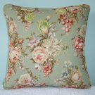 RALPH LAUREN CUSTOM 16X16 CHARLOTTE FLORAL PILLOW