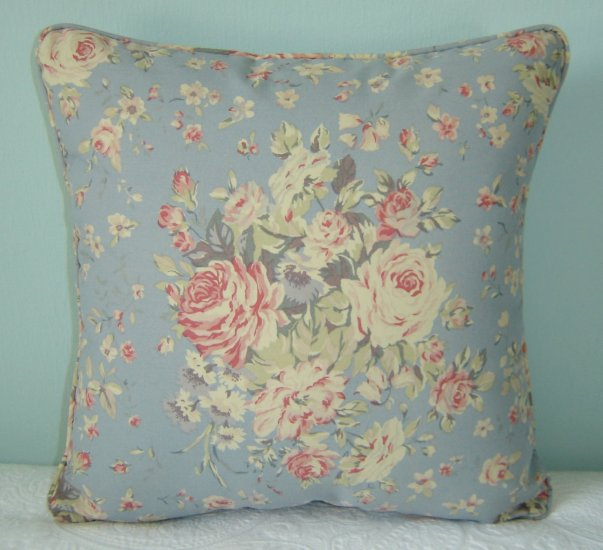 RALPH LAUREN CUSTOM 16X16 SHELTER ISLAND FLORAL PILLOW