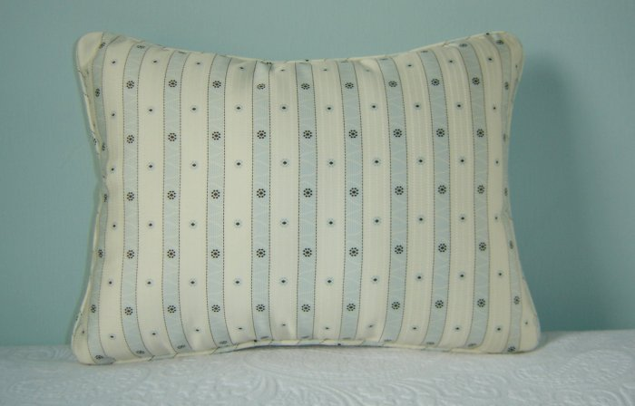 "RALPH LAUREN CUSTOM INDOCHINE STRIPE 12""X16"" PILLOW"