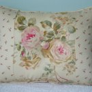 RALPH LAUREN CUSTOM WOODSTOCK GARDEN & CALICO PILLOW