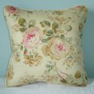 "RALPH LAUREN CUSTOM WOODSTOCK GARDEN/ CALICO 14""PILLOW"