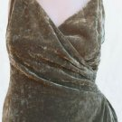 Giorgio Armani Gown Sz 4 Womens Velvet New Evening Formal Prom straps  Italy