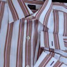 Paul Smith French cuffs shirt Mens dress Stripes 15 15.5