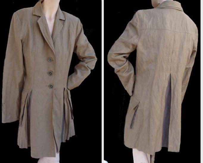 Cabi jacket Womens button front Khaki Sz 10 outerwear