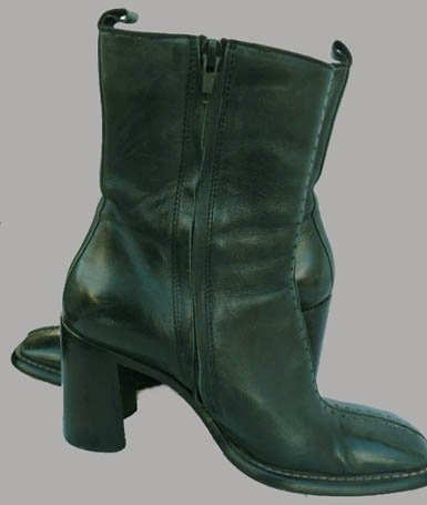 Womens ankle boots Costume National shoes  6.5 Leather