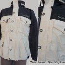 Polo Ralph Lauren Sports jacket Sportsman 67 M Explorers Adventure  Black Beige