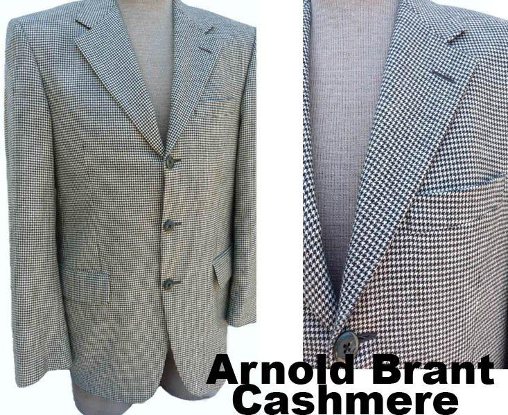 Arnold Brant mens Cashmere blazer sportcoat 42 Lora Piana Jacket