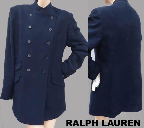 Ralph Lauren Jacket Womens Navy Sz 10 NWT Business Dress Button front