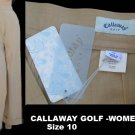 Callaway Womens Golf pants NWT New Sz 10 womens sportswear