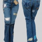 Designer Jeans Womens Distressed Furst of a Kind Embellished Di