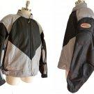 Hein Gericke jacket Moto Mesh Safe Summer Light 3XL Black Silver Padded Sleeves Shoulder