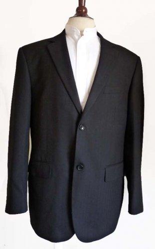 Paul Smith Mens Blazer Sportcoat Black Blazer Sz 44 Jacket Single Breasted 2 button