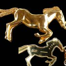 Horse Gold  metal belt Designer France Registered Numberedl AR mod depos Registered