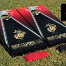 U.S.M.C. Semper Fi Cornhole Game Set Marines 2 Boards 8 Bags Corn Hole Bag Toss