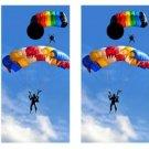 Skydiving Cornhole Game Set ~ Corn Hole Bag Toss ~ New in Box