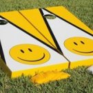 Smiley Face Cornhole Game Set ~ Smile ~ Smiles ~ Corn Hole Bag Toss ~ New in Box