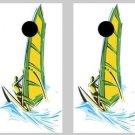Windsurfer Cornhole Game Set ~ Corn Hole Bag Toss ~ New in Box