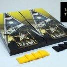 U. S. Army Apache Cornhole Game Set Military ~ Corn Hole Bag Toss ~ New in Box