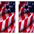 United States Flag Waiving Cornhole Game Set 2 Boards 8 Bags Corn Hole Bag Toss