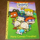 RUGRATS-HERE COMES TROUBLE!-3 IN 1 ACTIVITY BOOK