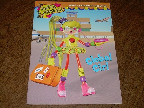 BETTY SPAGHETTY-GLOBAL GIRL COLORING BOOK