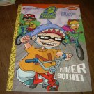 ROCKET POWER-POWER SQUID-COLORING BOOK WITH TATTOOS