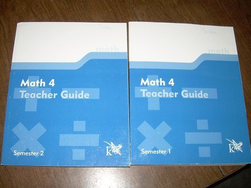 MATH 4 SEMESTERS 1&2 TEACHER GUIDES-K12 PROGRAM