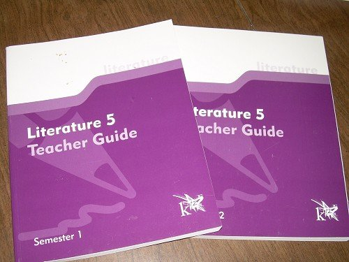 LITERATURE 5 SEMESTER 1&2 TEACHER GUIDES K12