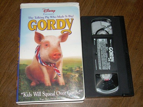 DISNEY'S THE TALKING PIG WHO MADE IT BIG! GORDY