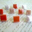 Mosaic Glass Tiles Thumbtack Push Pin, Mosaic Glass Tiles Notice Board Pins