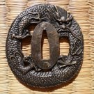 Dragon Tsuba Guard for Japanese Samurai Warrior Wakizashi Tanto Sword