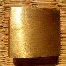 Brass Habaki Collar for Japanese Samurai Warrior Katana Wakizashi Tanto Sword