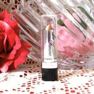 "LA FEMME Perle Lipstick # LF-34 ""Metallic Gold"""