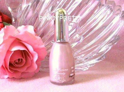 La Femme Beauty Frost Nail Polish 91 Sugar Pink